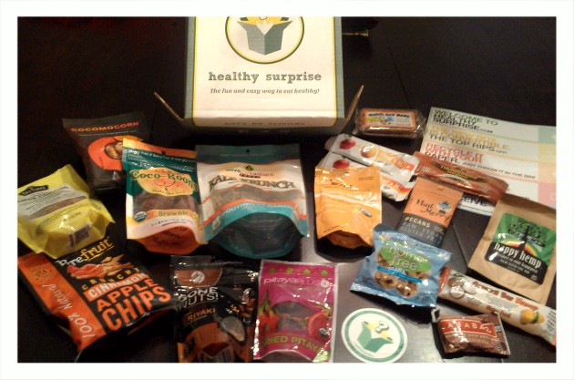 My Healthy Surprise Box - Dec 2012