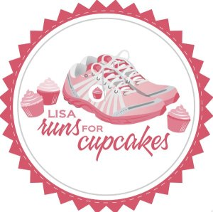 Lisa Runs for Cupcakes Logo