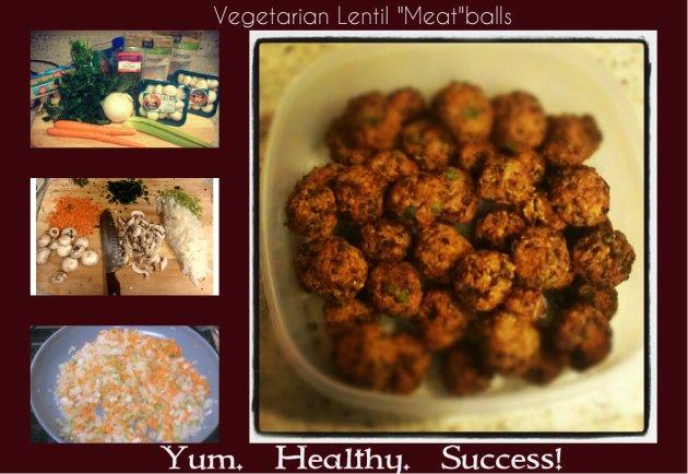 veg meatballs