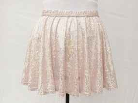 Pink iGlow Running Skirt